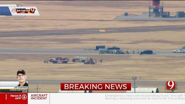 2 Killed In 'Aircraft Mishap' At Vance AFB, Air Force Officials Say