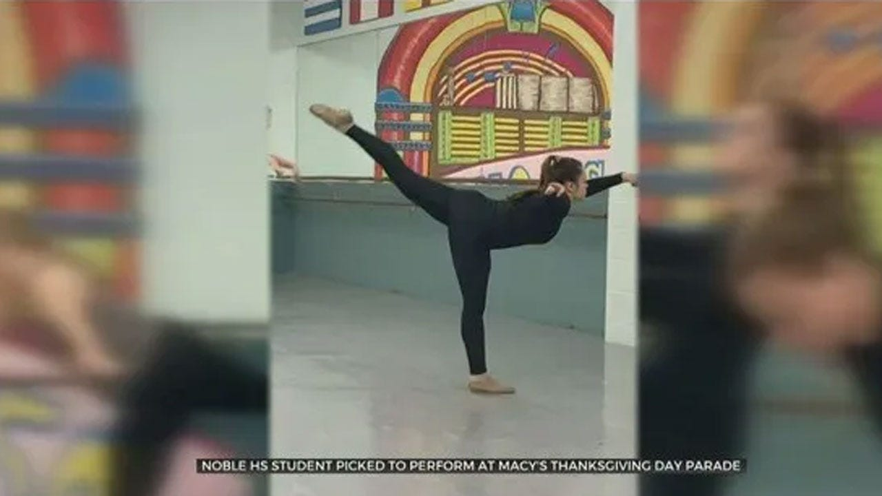 Noble High School Dancer Chosen To Perform In Macy's Thanksgiving Day Parade