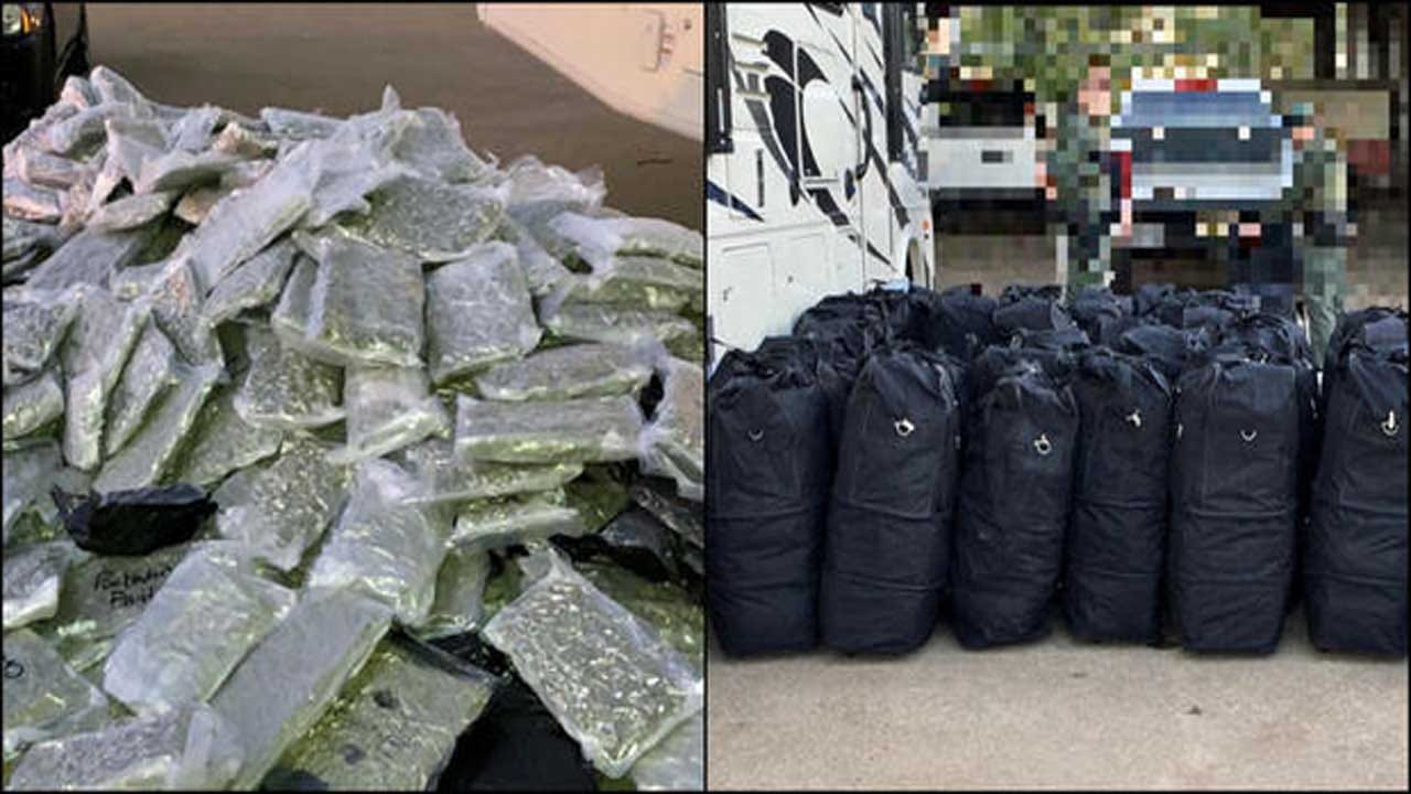 Police Seize Nearly 1,000 Pounds Of Marijuana And 2,000 Vaping Cartridges In Texas Traffic Stop