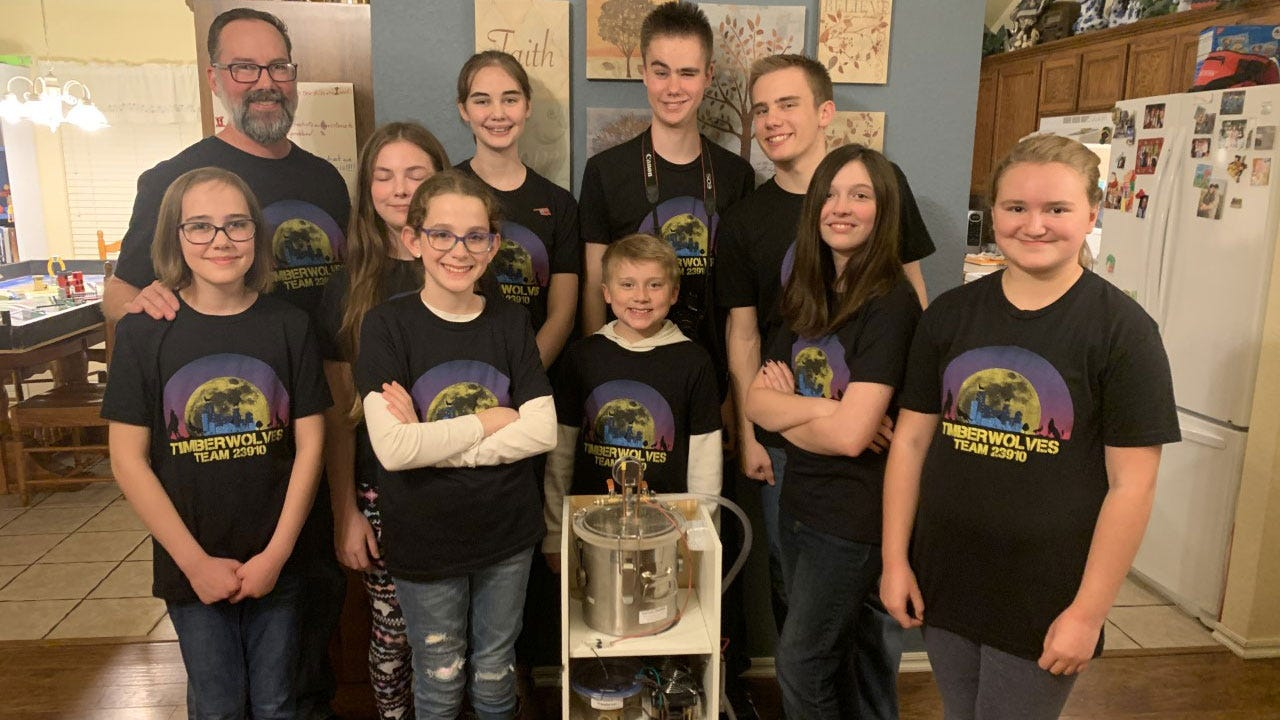 Norman Students Build New Nuclear Reactor