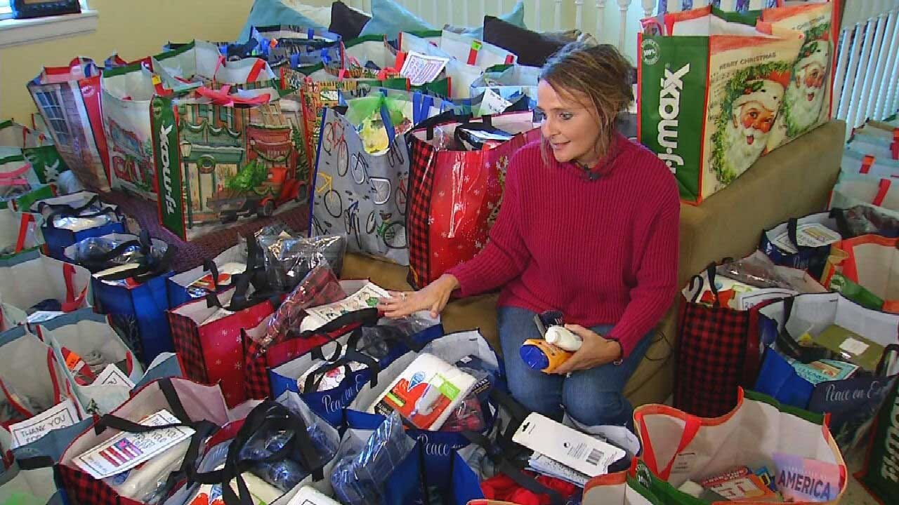Red Dirt Diaries: Shawnee Woman Starts Statewide Campaign For Veteran Gifts