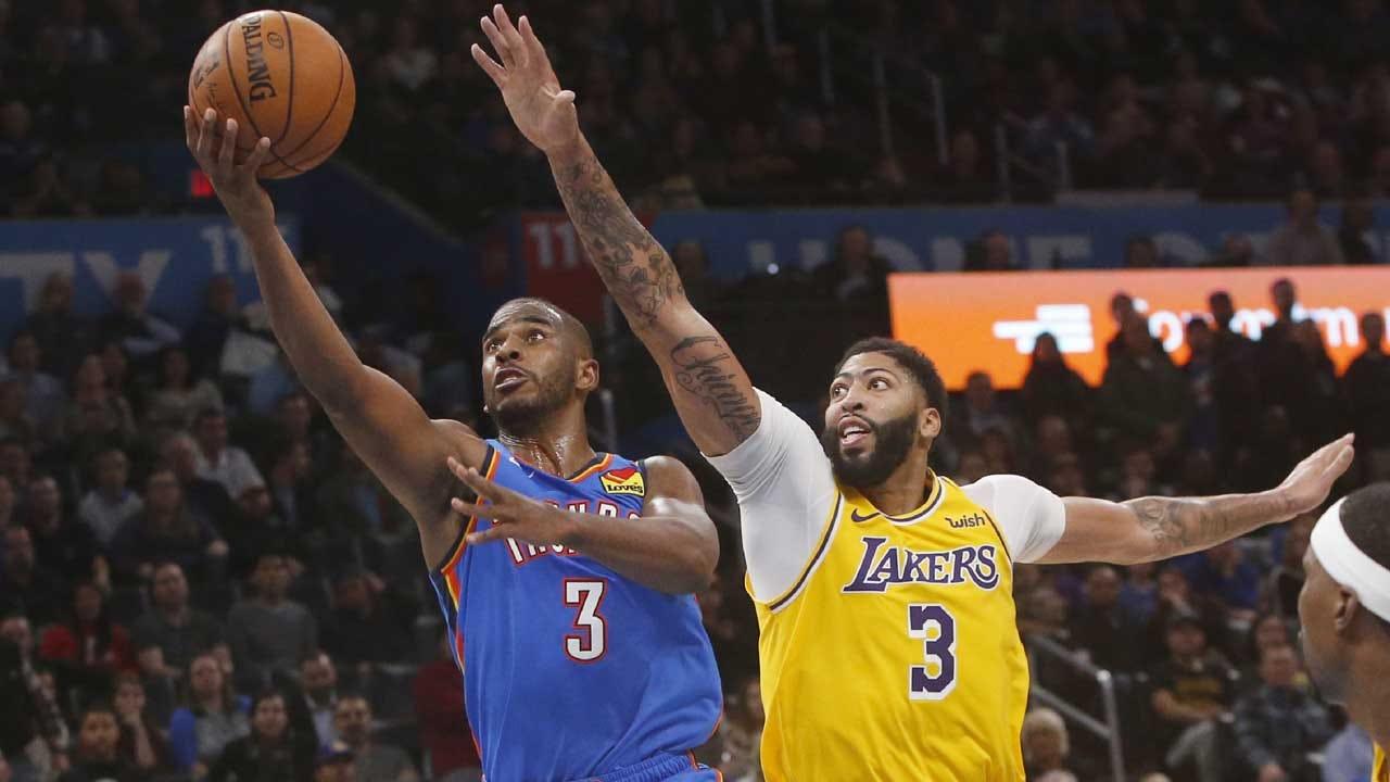 Thunder Falls Short To Lakers, Again