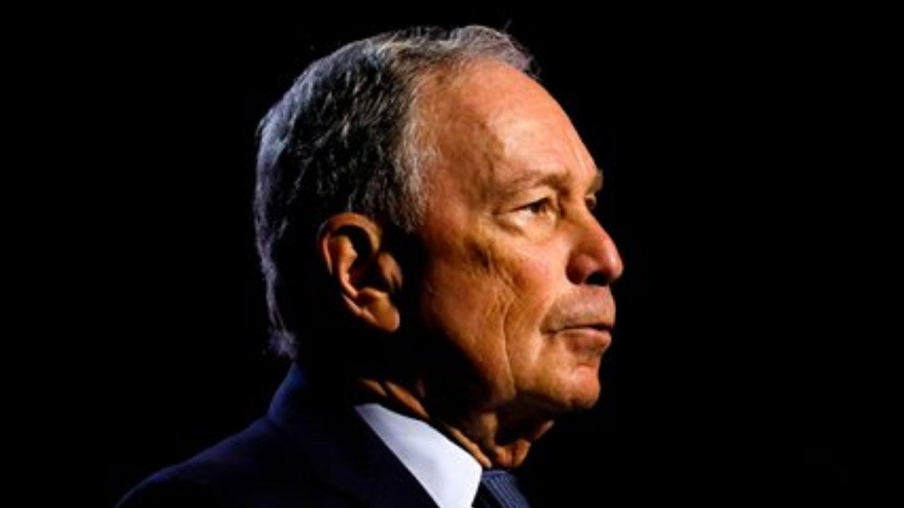 Bloomberg Officially Joins Presidential Campaign With Multimillion-Dollar Ad Blitz