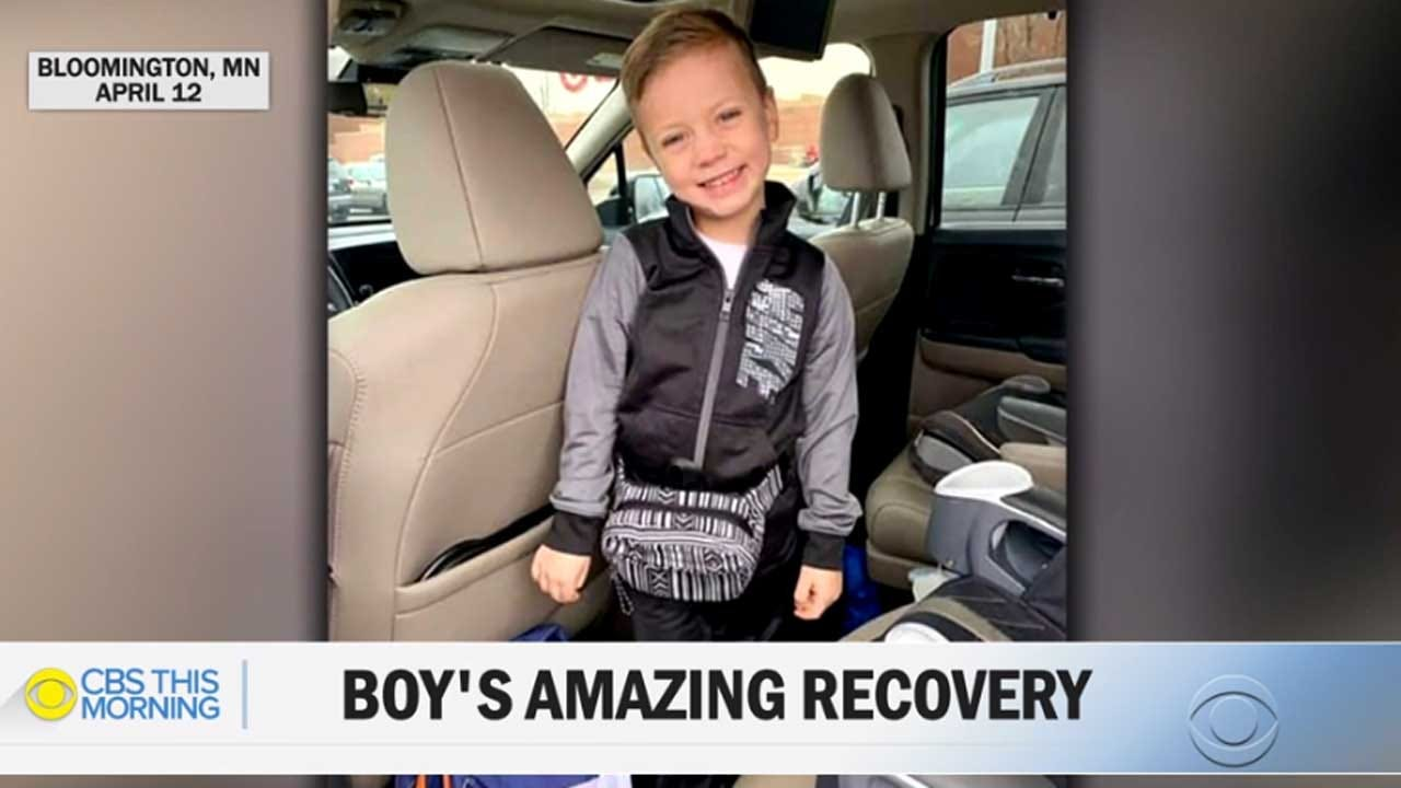 Boy Thrown From Mall Of America Balcony Is Walking, Attending Kindergarten