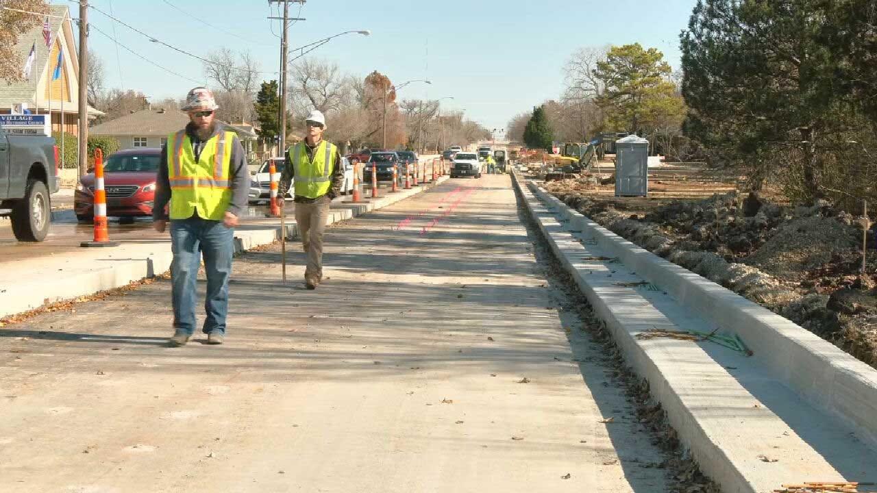OKC, The Village Road Construction Delays Along Britton Impacting Businesses