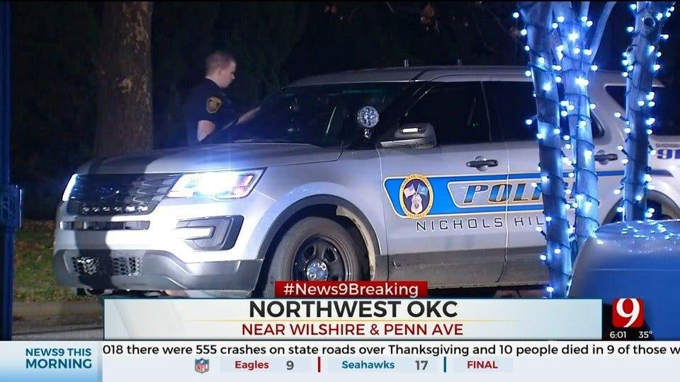 Police Investigate After Car Crashes Into Nichols Hills Park