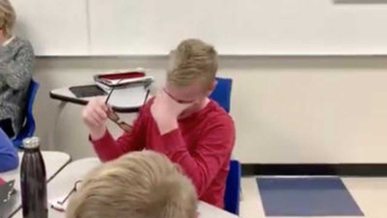 WATCH: Emotional Moment As Colorblind Student Sees Color For First Time