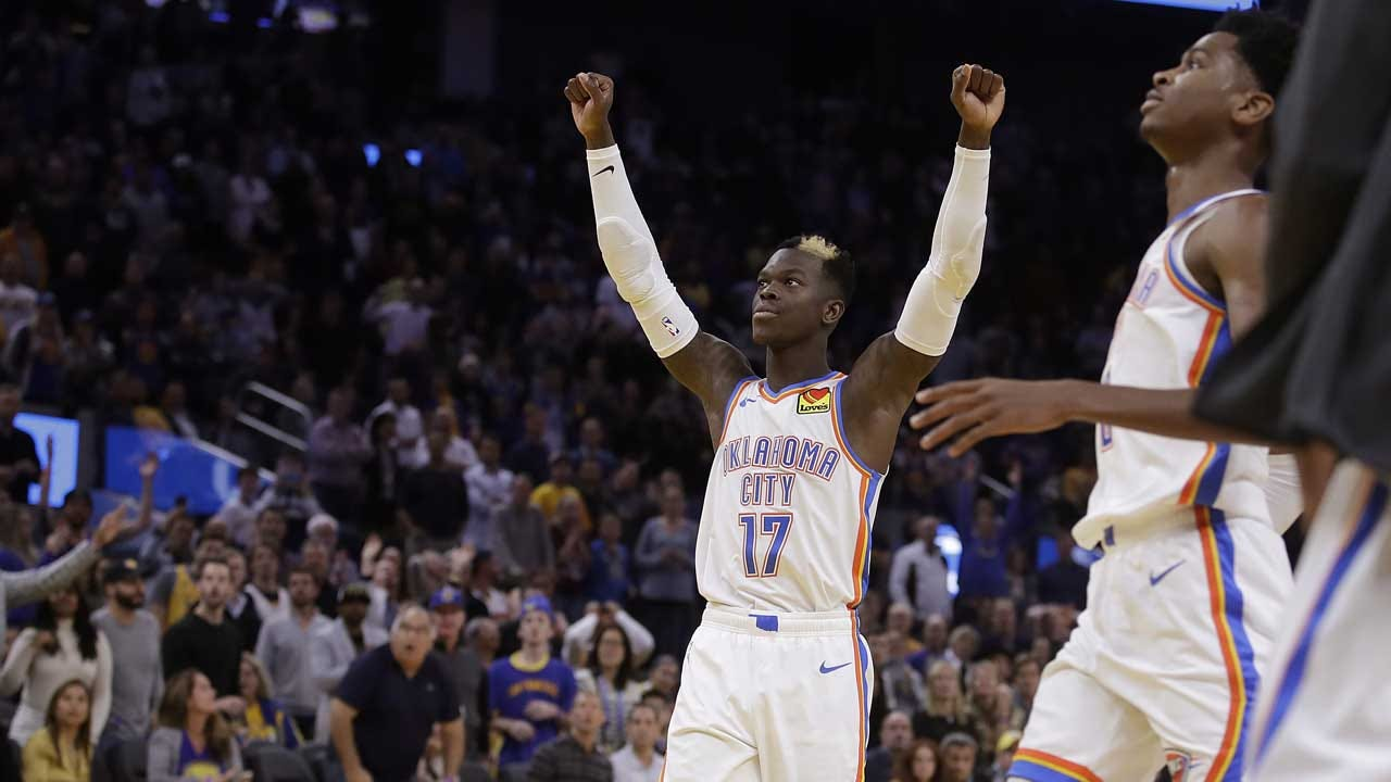 Thunder Get First Road Win Of The Season With 100-97 Victory Over Warriors