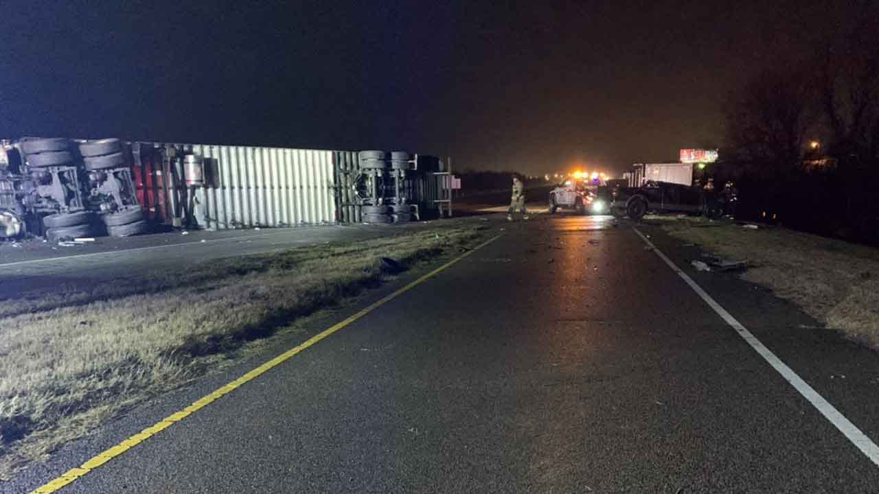 Crews Respond To Multi-Vehicle Accident On I-44