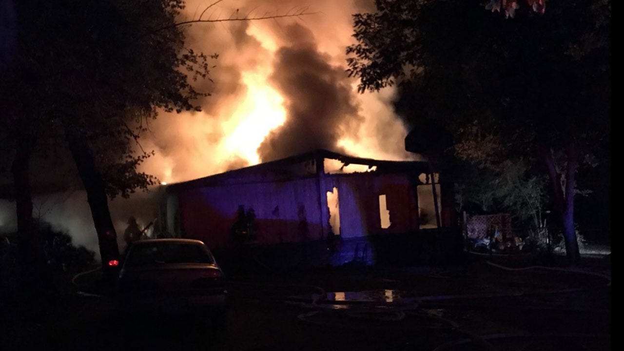 5 Escape Early Morning House Fire In Choctaw