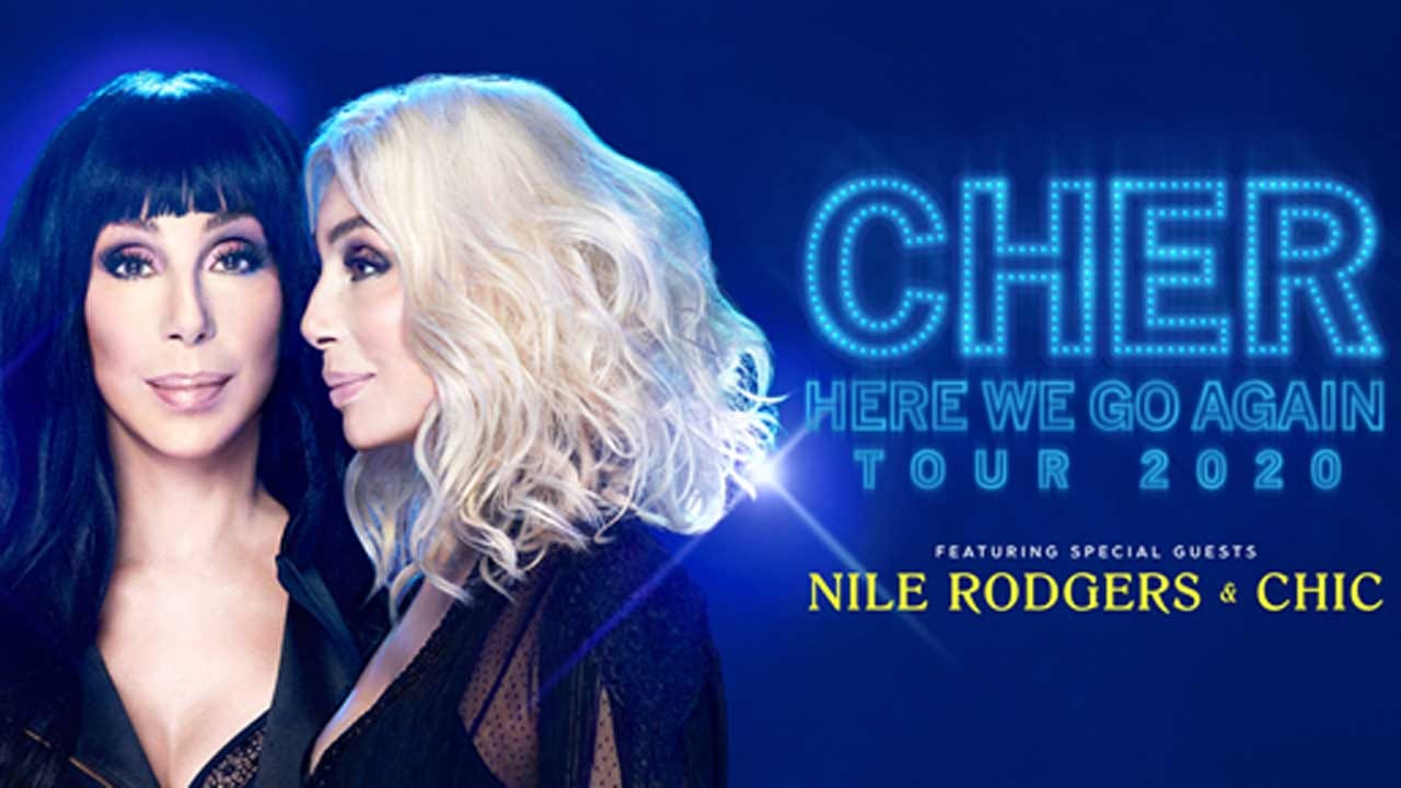 Cher To Perform At The Chesapeake Arena In March 2020