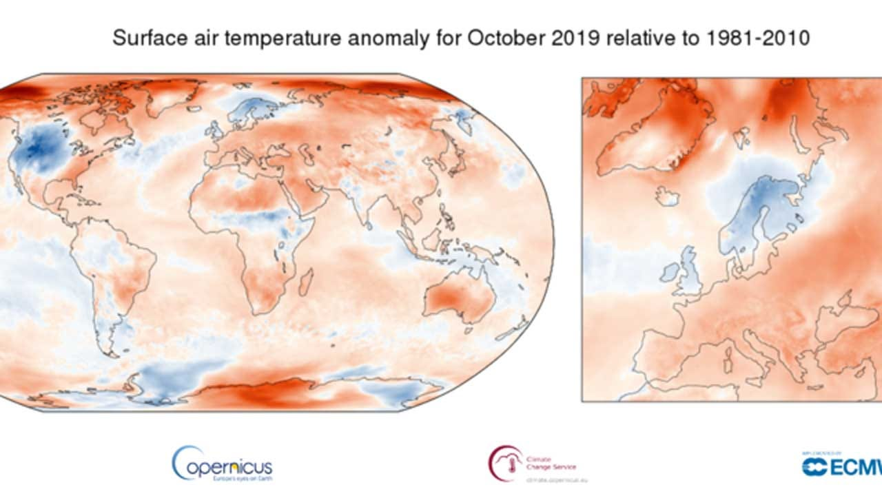 Earth Just Experienced Its Hottest-Ever October