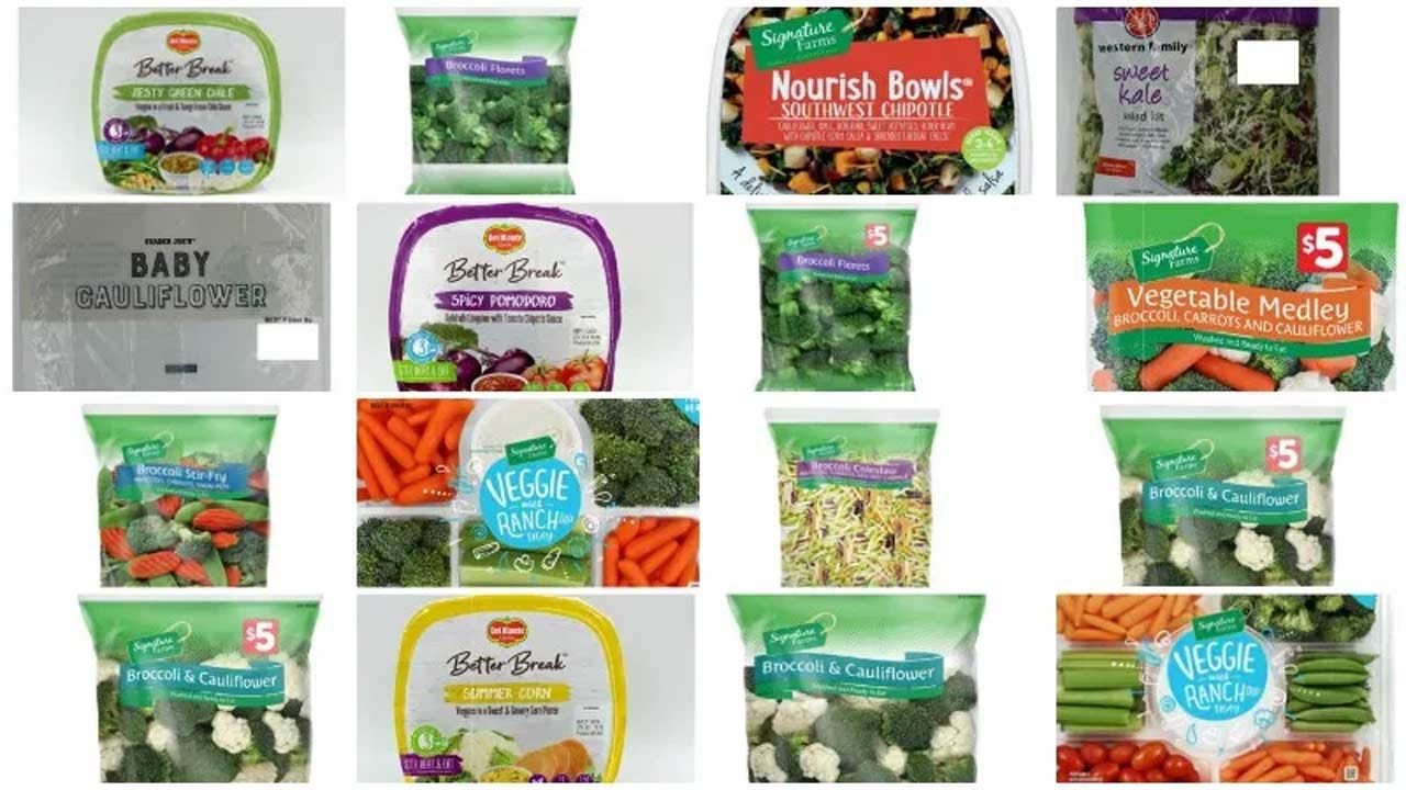 More Than 140 Vegetable Products Recalled By Fresh Del Monte Produce Mann's Brands Due To Listeria Fears