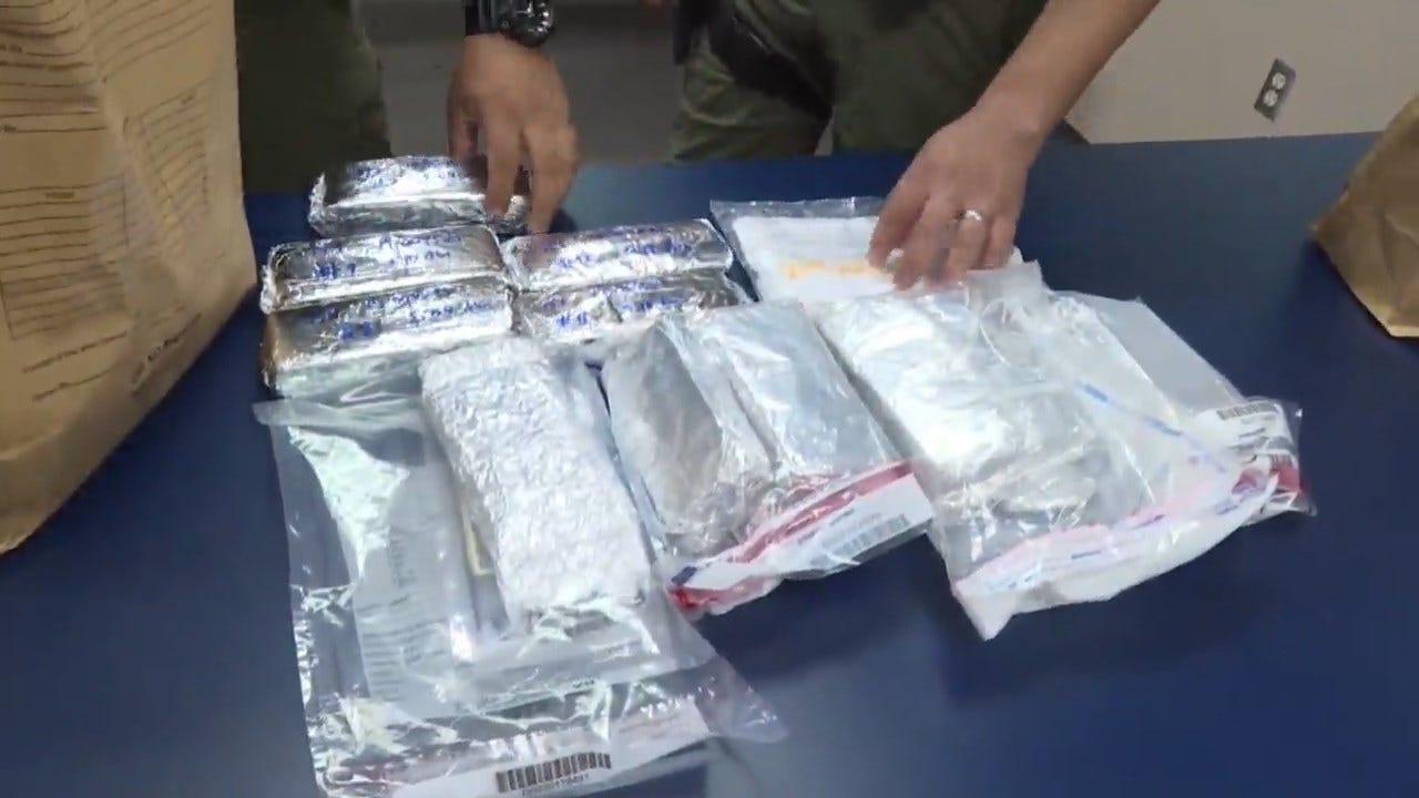 $200,000 In Cash Hidden Inside Van Bundled In Aluminum Foil Disguised As Tamales
