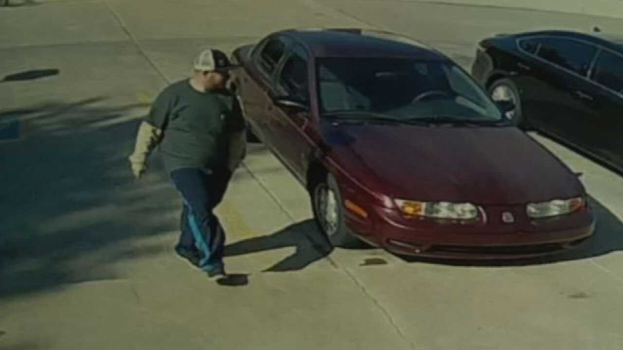 Man Wanted After Caught On Surveillance Stealing Vehicle; Woman Arrested Behind The Wheel