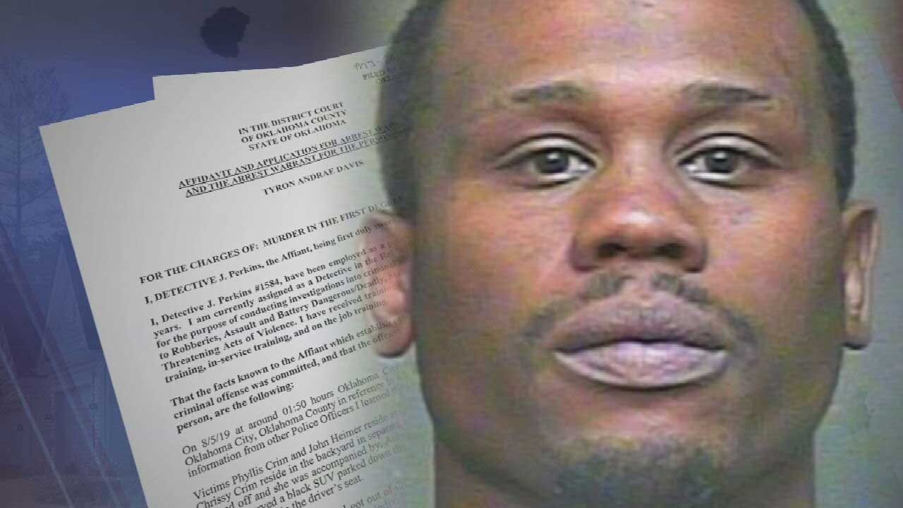 Man Wanted In OKC Home Invasion, Homicide Captured In Noble