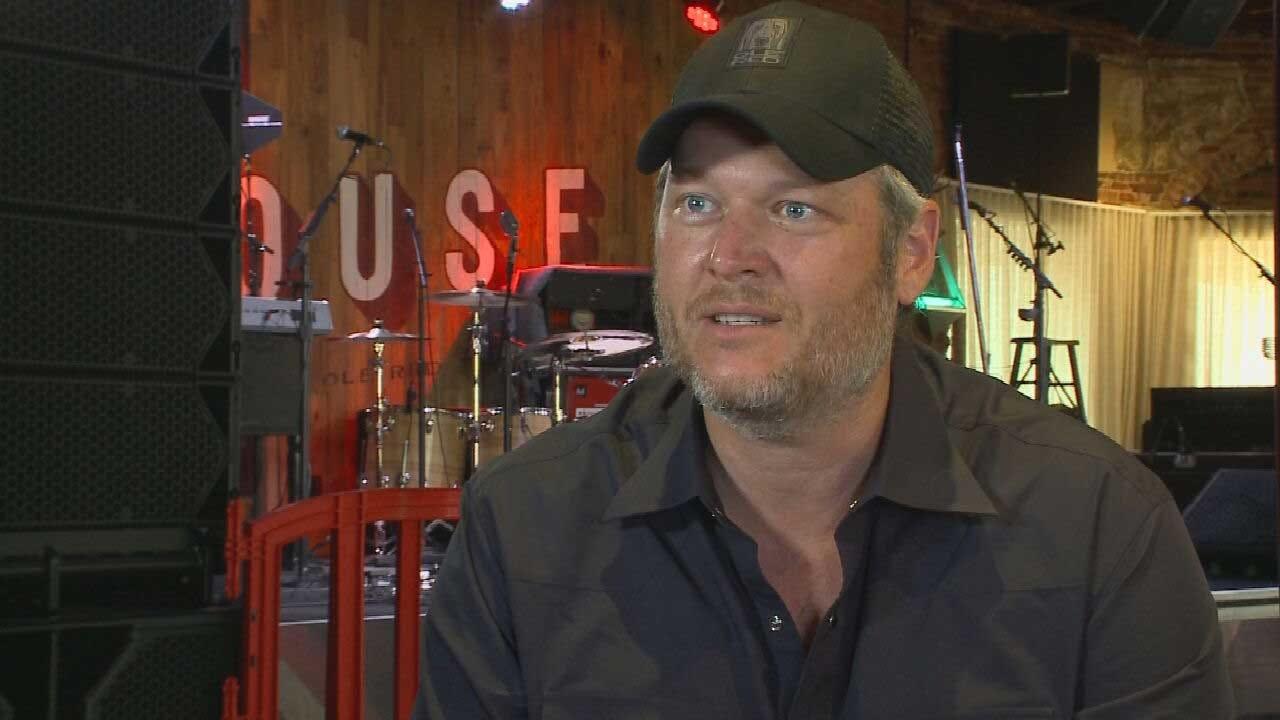 Oklahoma's Own Blake Shelton Gives Back To State, Makes Wildlife Top Priority
