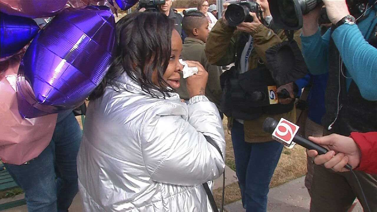 'I'm Blessed And I'm So Humbled': OKC Woman Sentenced In Failure-To-Protect Case Is Free