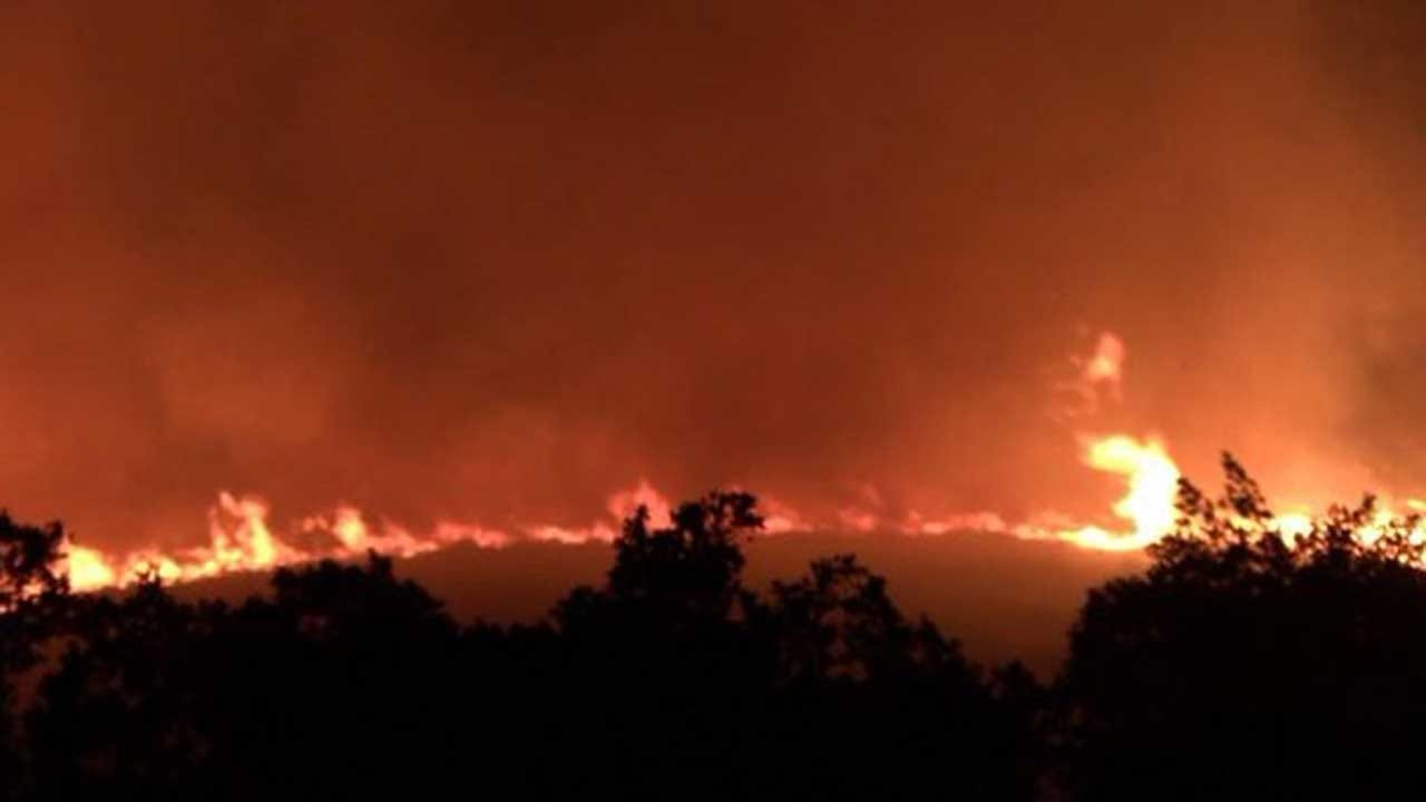 Evacuations Ordered As Fast-Moving Wildfire Spreads In Bay Area Town