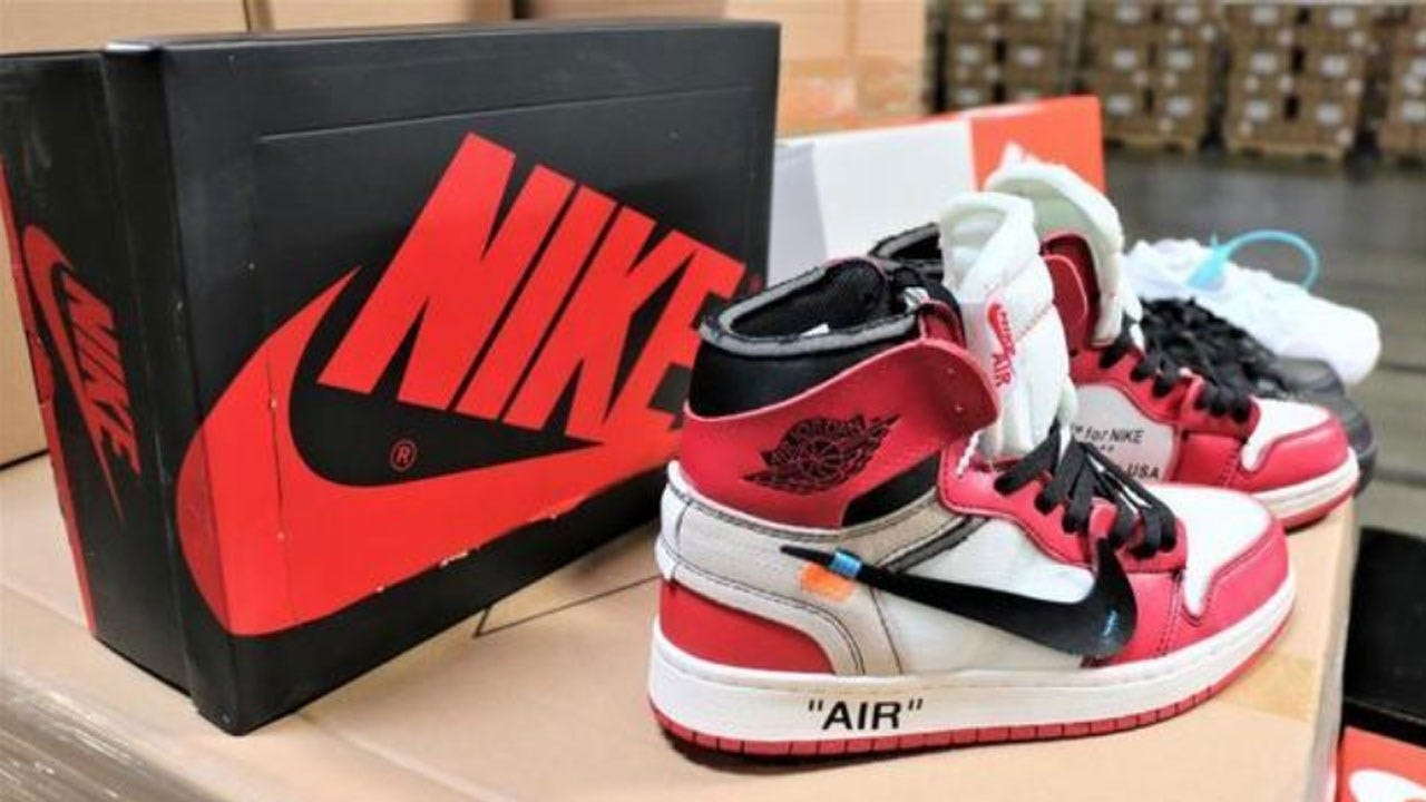Feds Seize $2.2 Million Worth Of Fake Nike Shoes At Southern California Seaport