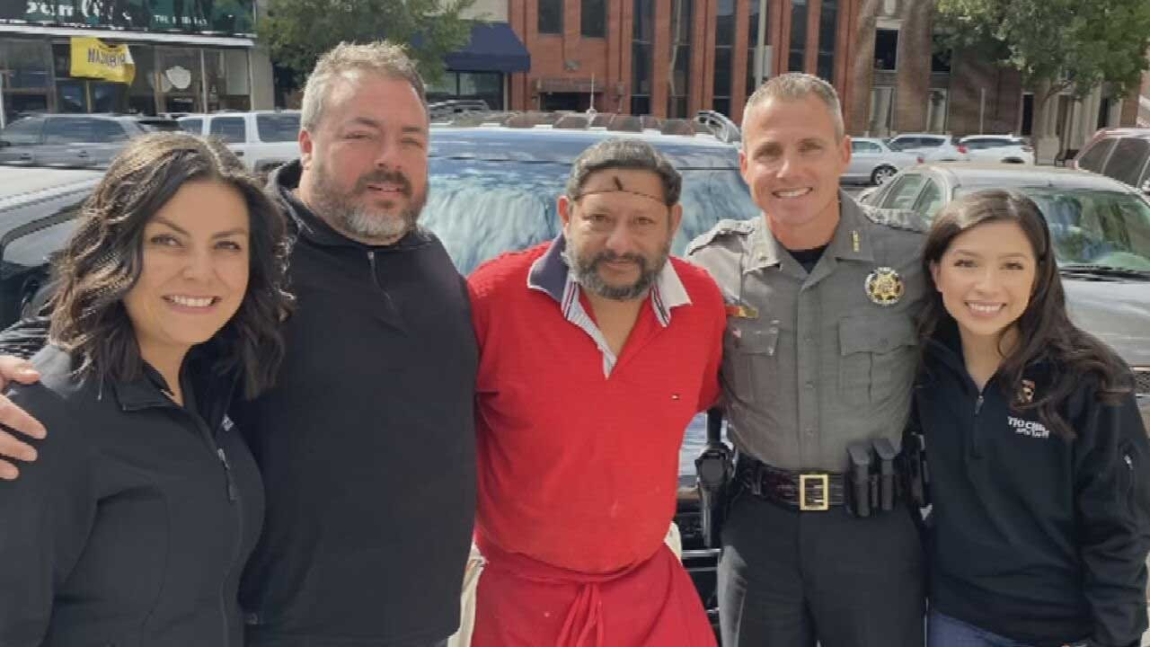 Man Partners With Cleveland County Sheriff's Office To Give Norman Father Life-Changing Gift