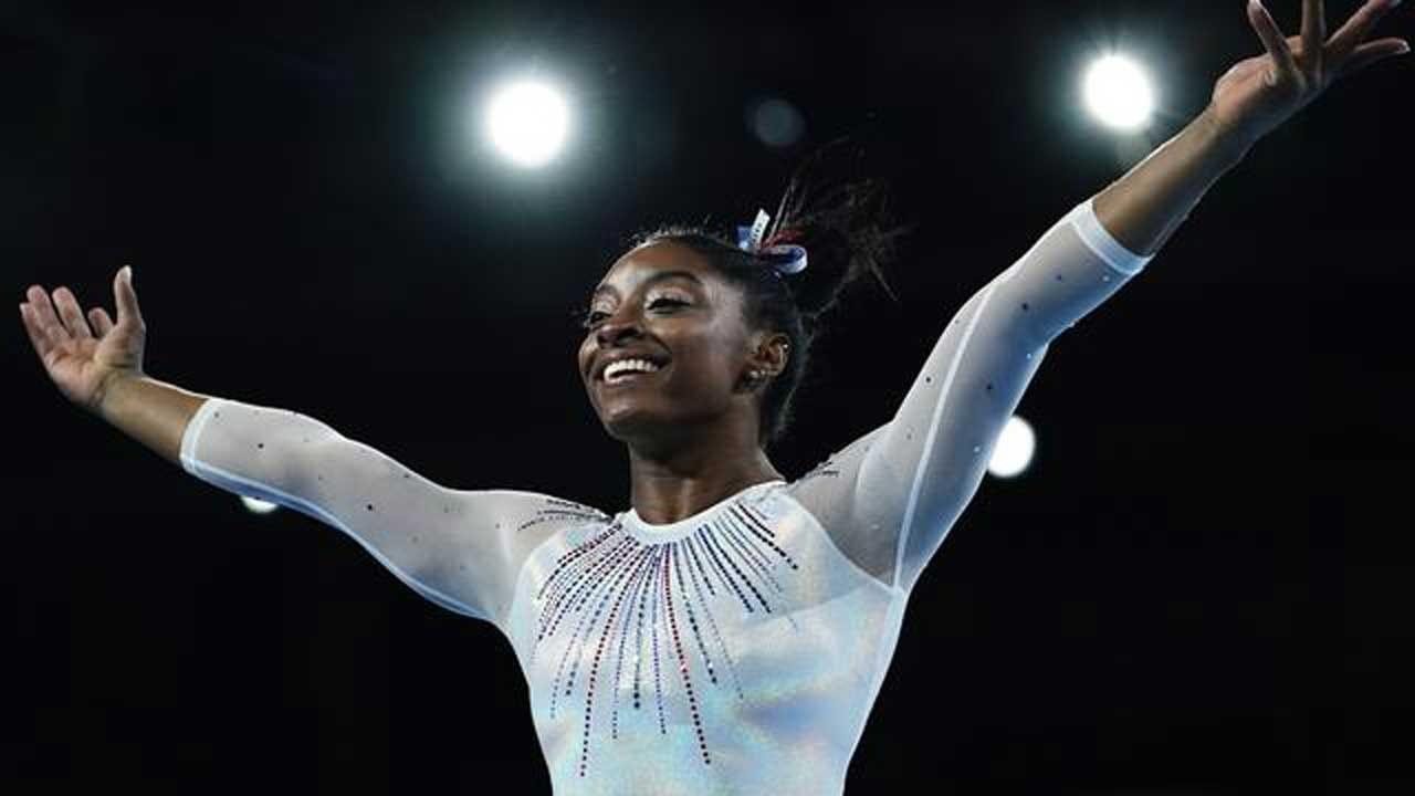 Simone Biles Wins 5th All-Around Gymnastics World Title