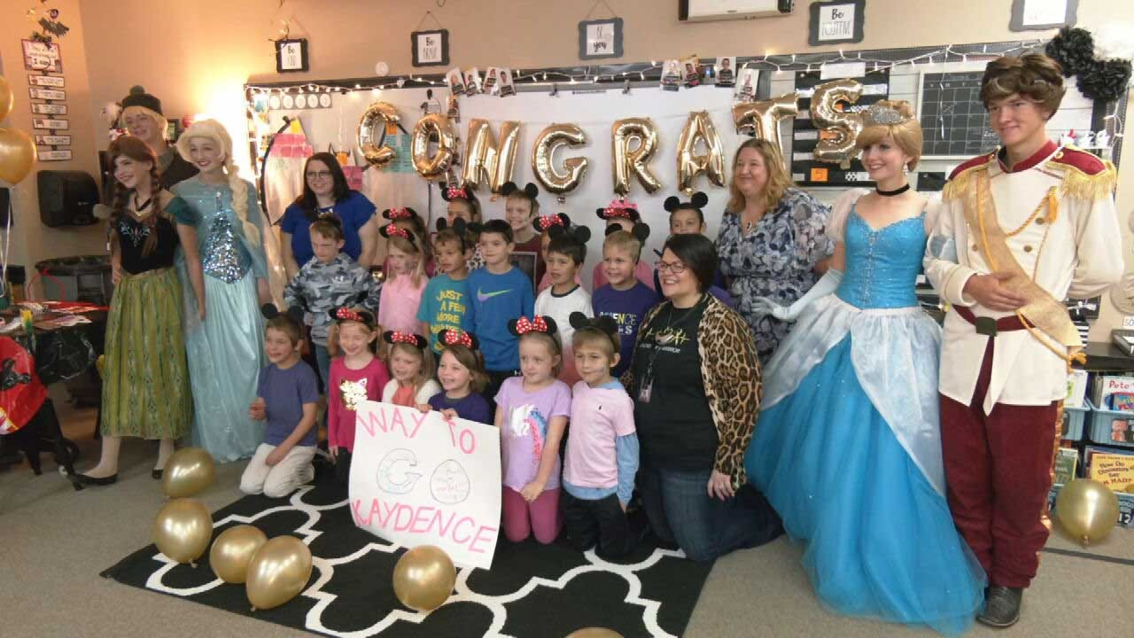 Weatherford Girl Receives Make-A-Wish Surprise