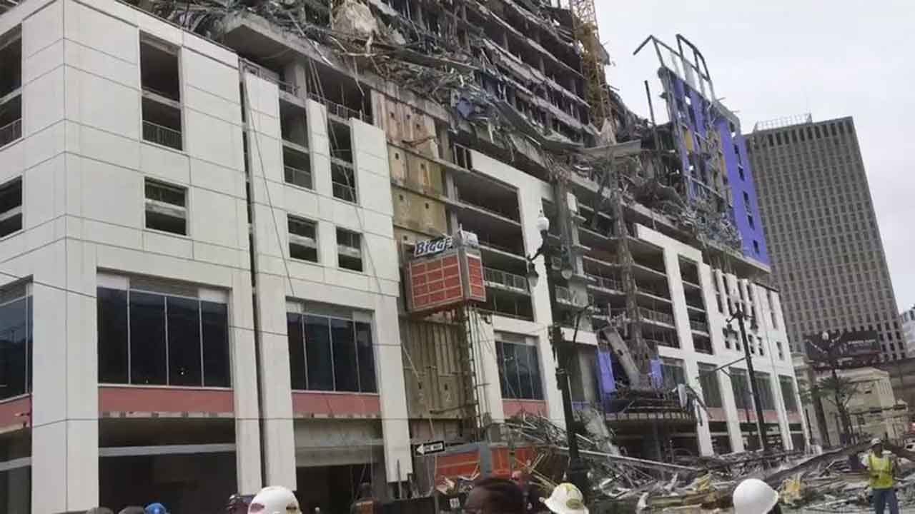 1 Dead, 2 Missing After Hotel Collapse In New Orleans