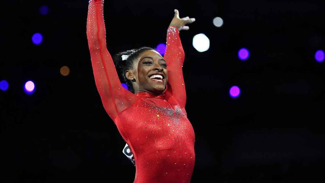 Simone Biles Captures All-Time Medal Record At The World Gymnastics Championship
