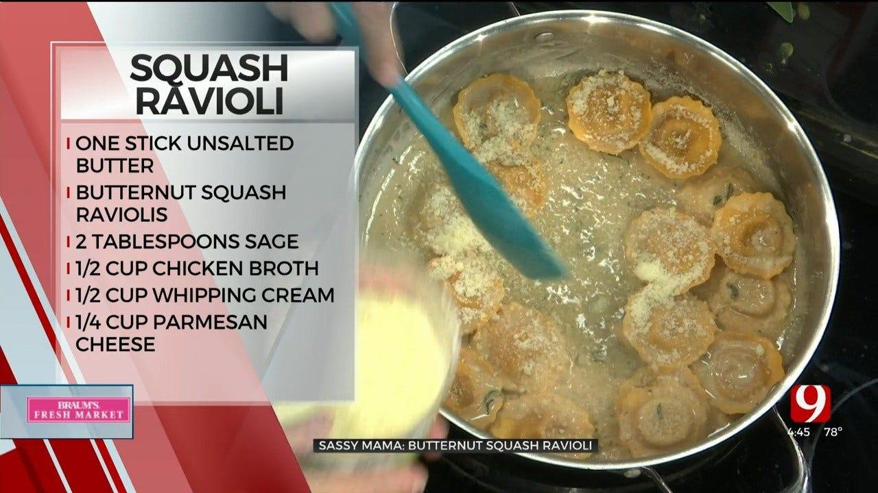 Butternut Squash Ravioli with Brown Butter & Sage