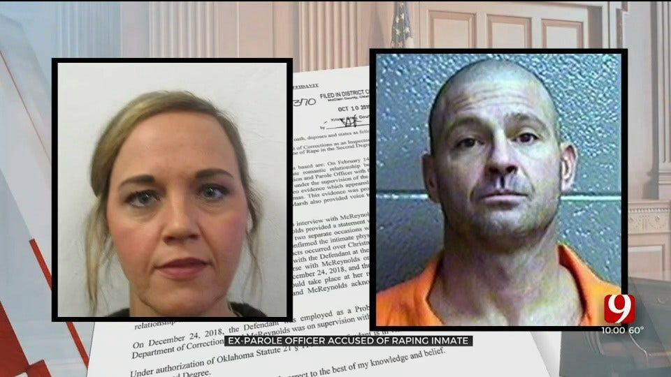 Former Parole Officer Accused Of Raping Inmate, Arrested In McClain County