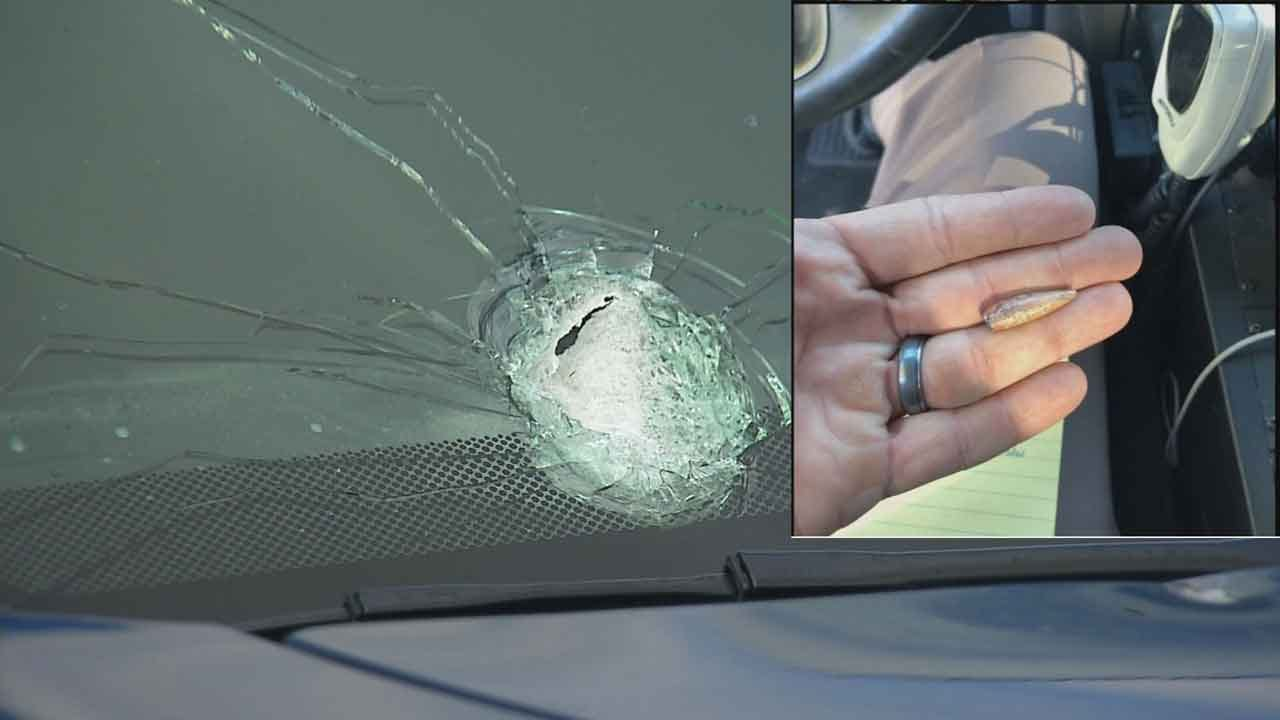 Two Vehicles Hit By Bullets On Oklahoma Turnpikes