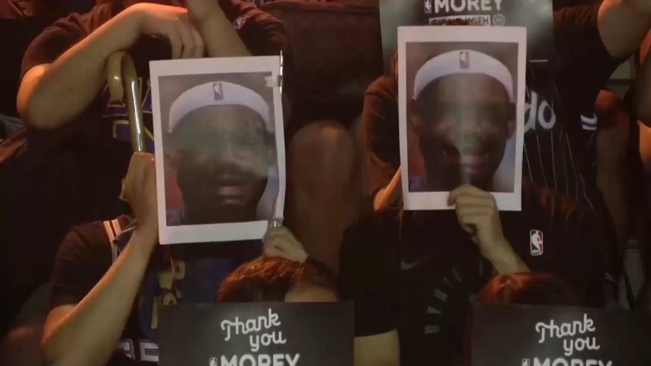 Protesters Burn, Trample LeBron James Jerseys In Hong Kong