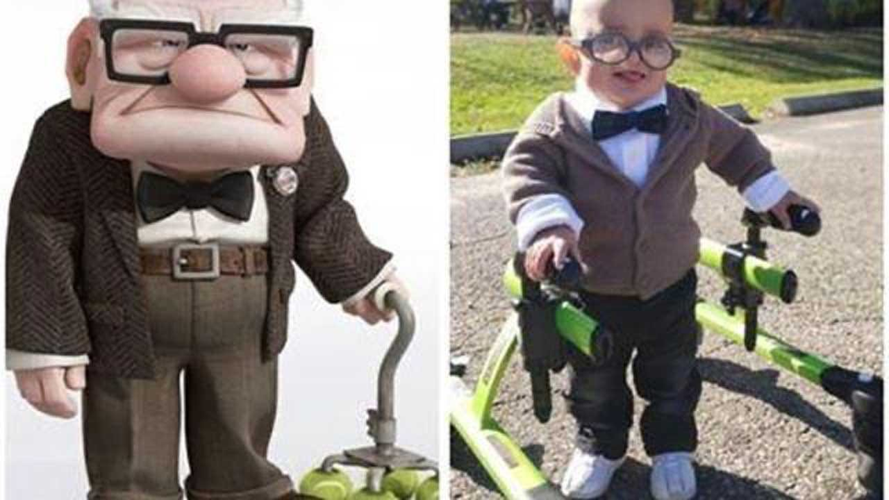 2-Year-Old With Cerebral Palsy Goes Viral For Halloween Costume