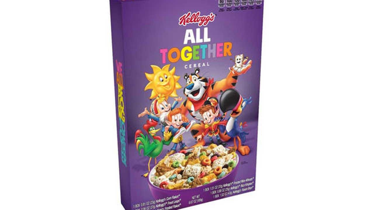 Kellogg's And GLAAD Team Up For Anti-Bullying Campaign, Launch 'All Together' Cereals
