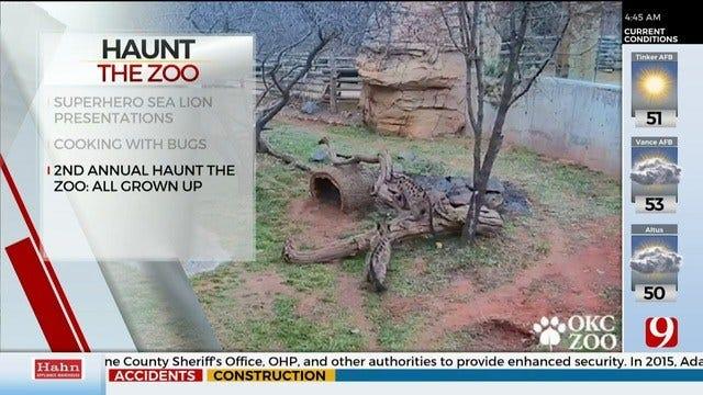 Oklahoma City Zoo Kicks Off Haunt The Zoo Event