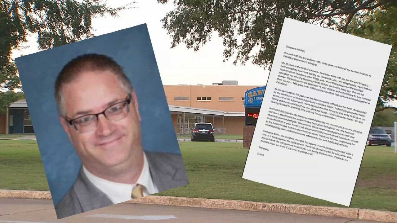 Norman Principal Who Drove School Bus Involved In Crash That Injured Elementary Students Announces Retirement