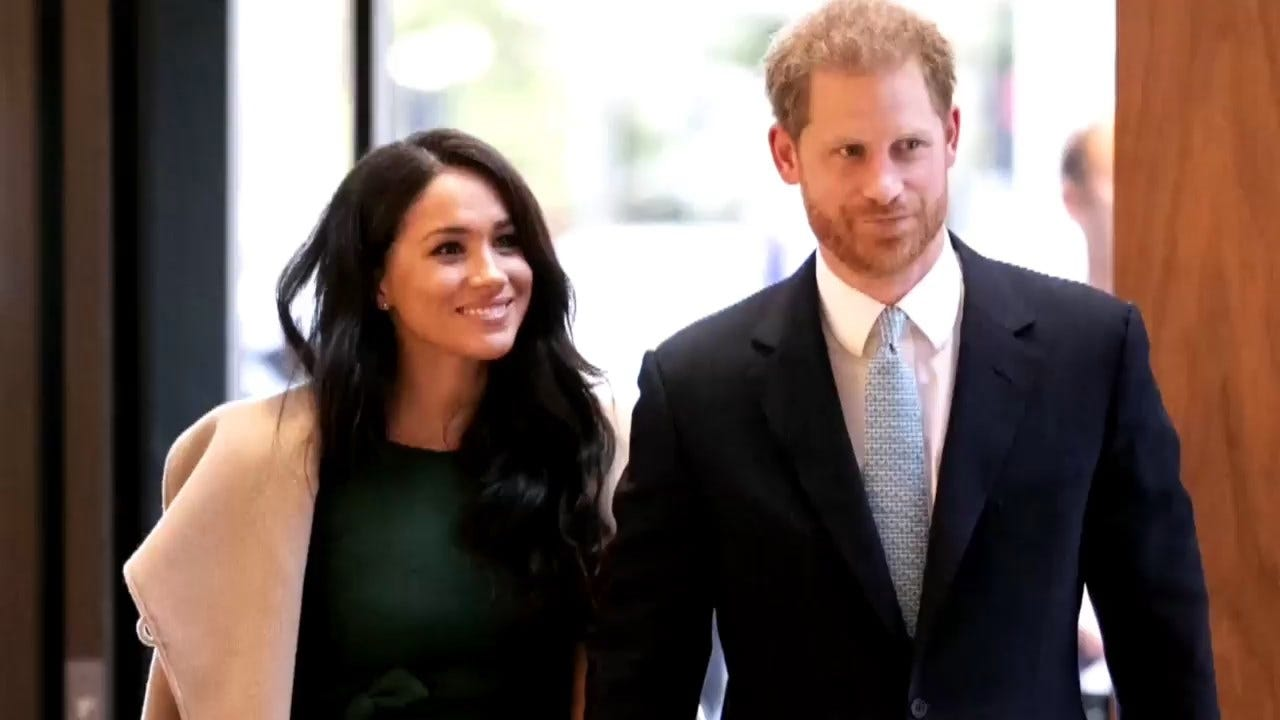 Prince Harry, Meghan Stepping Away From 'Senior' Royal Roles
