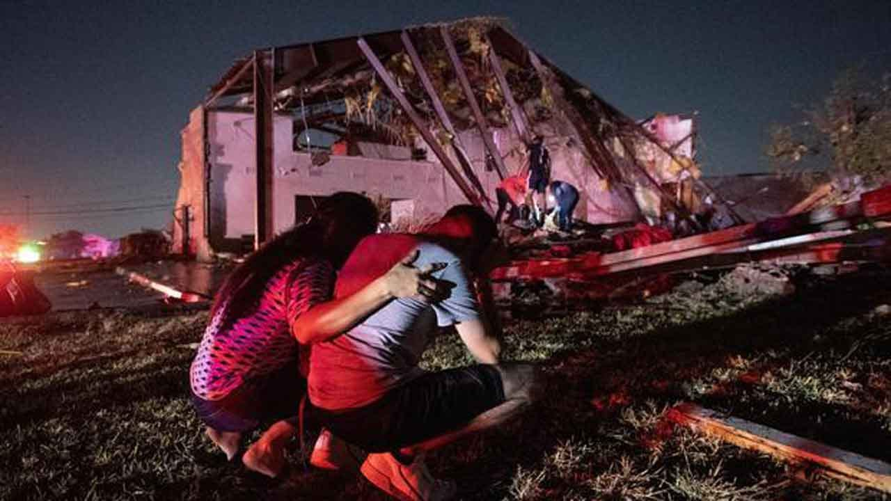 Tornado Hits Dallas, Leaving Widespread Damage And Power Outages