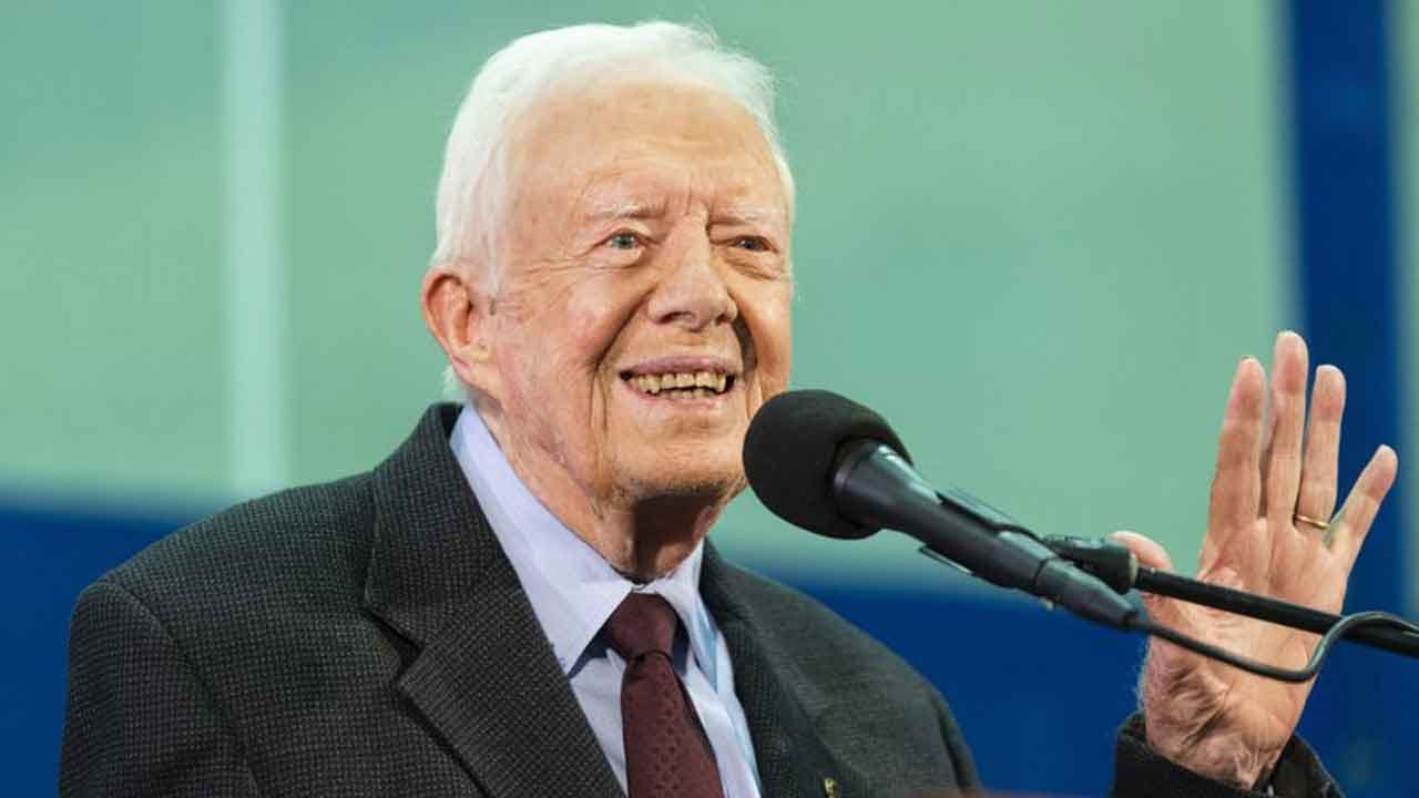 Former President Jimmy Carter Hospitalized After Fall At Georgia Home