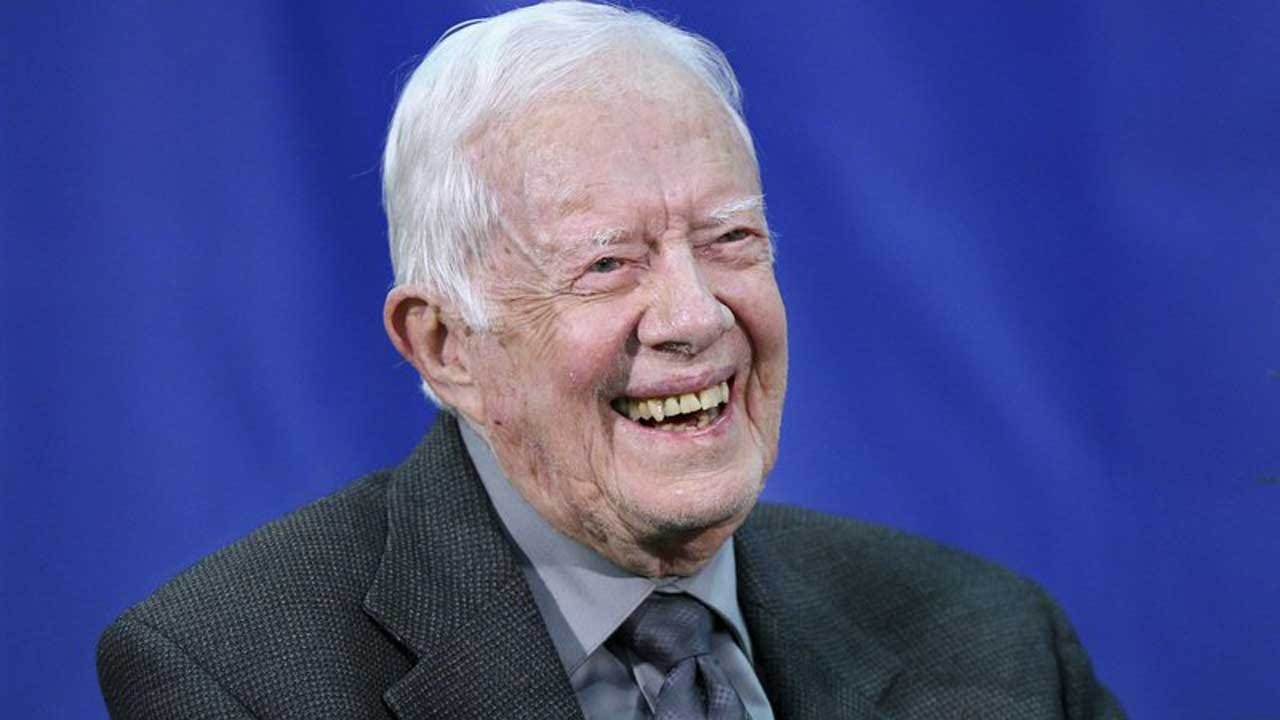 Jimmy Carter Says He Is 'At Ease With Death' 2 Weeks After Being Hospitalized
