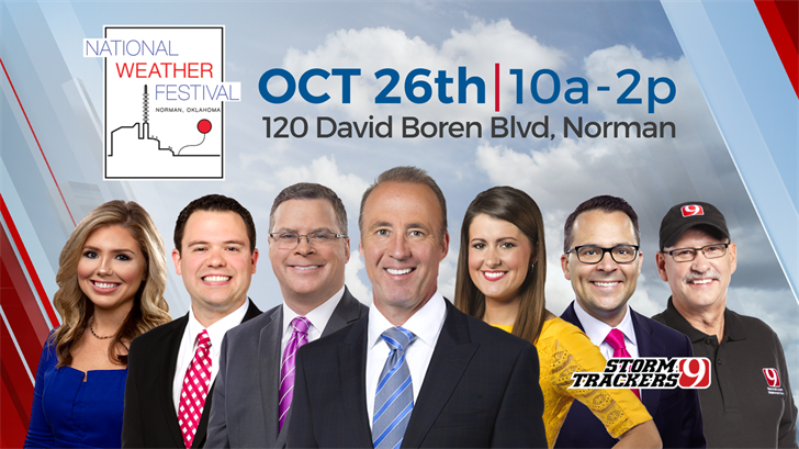 Join News 9 At The National Weather Festival