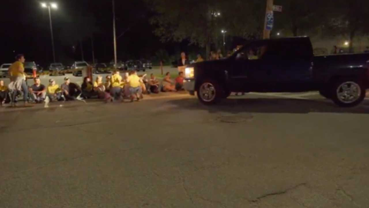 No Charges Will Be Filed Against Corrections Officer Who Drove Into Protesters