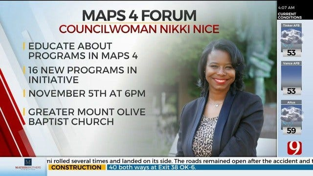 OKC Councilwoman To Hold November Forum About MAPS 4