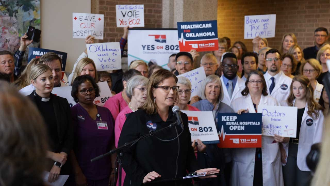 Organizers: Volunteers Submit More Than 313,000 Signatures For Medicaid Ballot Question