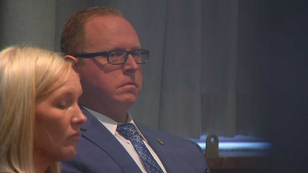 Supporters of OKC Officer On Trial For Deadly Shooting Show Up For Court Testimony