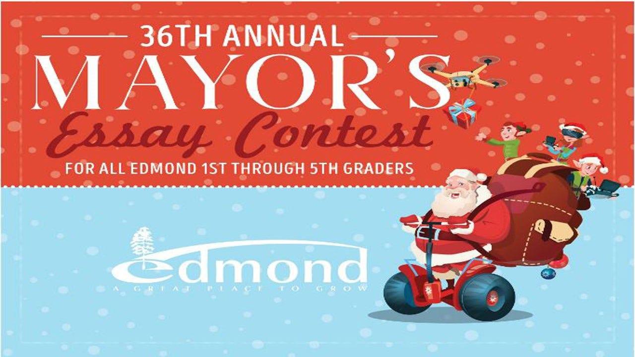 Mayor's Essay Contest Open For Edmond Students