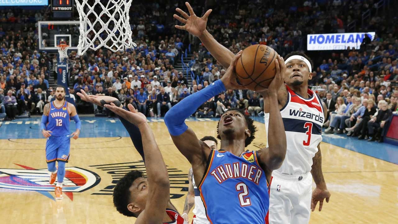 Scoring Disappears Late As Thunder Loses Home Opener To Wizards