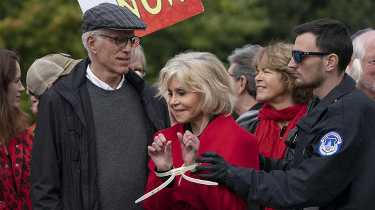 Ted Danson Is The Latest Celebrity To Get Arrested With Jane Fonda At Weekly Climate Change Protest