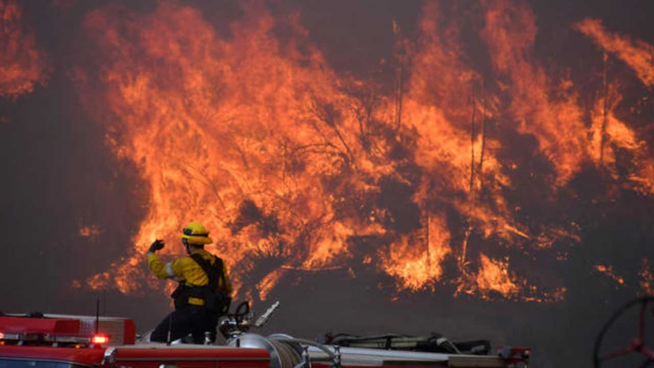 Wildfires Rage In California With Possible Record-Setting Winds Ahead